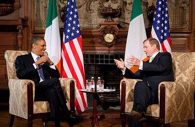 Kenny with former U.S. President Barack Obama