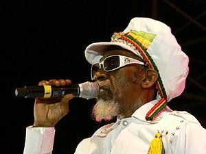 Bunny Wailer performs at the 2008 Smile Jamaic...