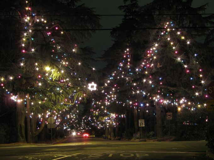 christmas tree lane wikipedia - Christmas Tree Lane Modesto Ca