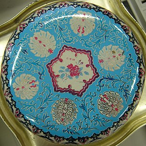 Decorative Tin Lid