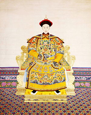 Guangxu was emperor of China during the Qing d...