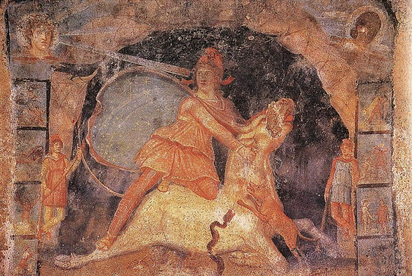 Fresque Mithraeum Marino.jpg