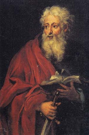 """Georg Gsell. """"The Apostle Paul."""""""