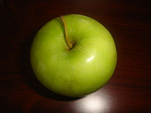 A Granny Smith Apple.