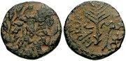Moneda de Herodes Antipas