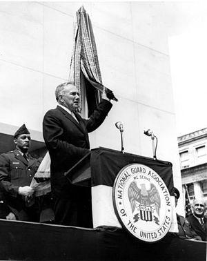 English: US Under Secretary of the Army Hugh M...
