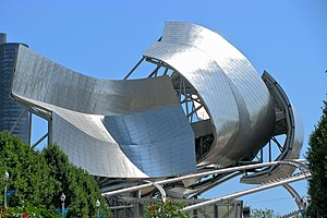 English: Jay Pritzker Pavilion at Millennium P...