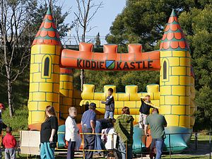 300px Jumping castle - What Makes a Safe Inflatable for Kids? Bobby K Has the Answers, NY Accident Attorney Says