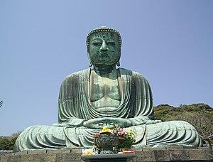 Estátua monumental de Buda em Kamakura
