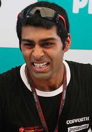 Formula One 2010 Rd.3 Malaysian GP: Karun Chan...