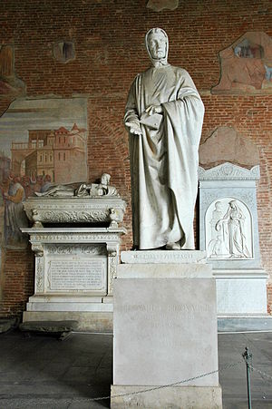 Monument of Leonardo da Pisa (Fibonacci), by G...