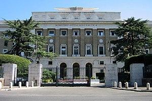 Italiano: Ministero della Difesa, Palazzo Aero...