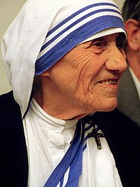 Madre Teresa di Calcutta,  Premio Nobel per la Pace 1979