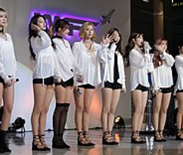 Nine Muses At The Korean Wave Fashion Festival In November 2015