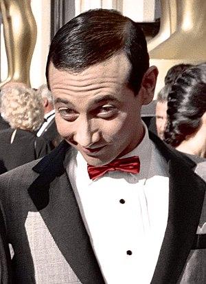 """Photo of actor Paul Reubens as """"Pee-Wee H..."""
