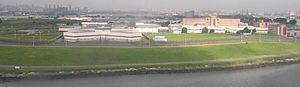 Rikers Island, off Queens New York