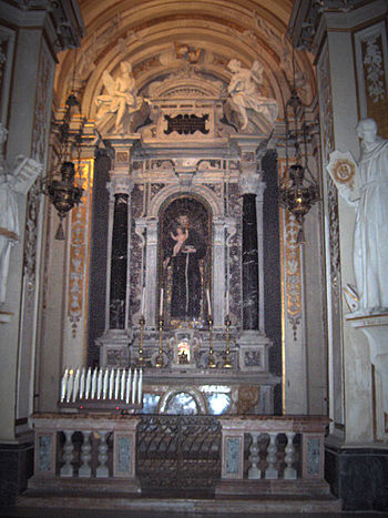English: Baroque side chapel in the byzantine ...