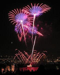 Seattle fireworks 2005