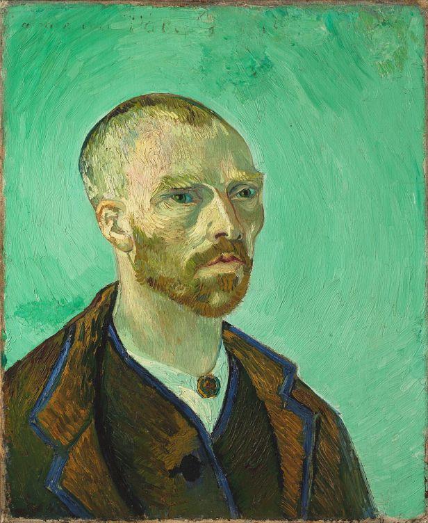 Van Gogh self-portrait dedicated to Gauguin