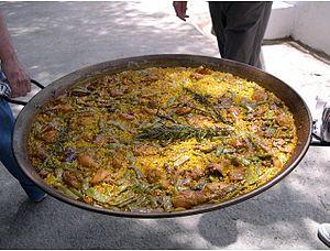 paella Español: paella