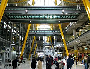 Madrid-Barajas Airport serving Madrid, Spain