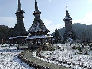 Bârsana Monastery, Maramureş County, Romania