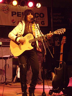 Buffy Sainte-Marie played the Peterborough Sum...