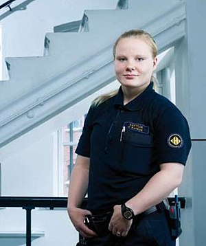 Finnish prison guard