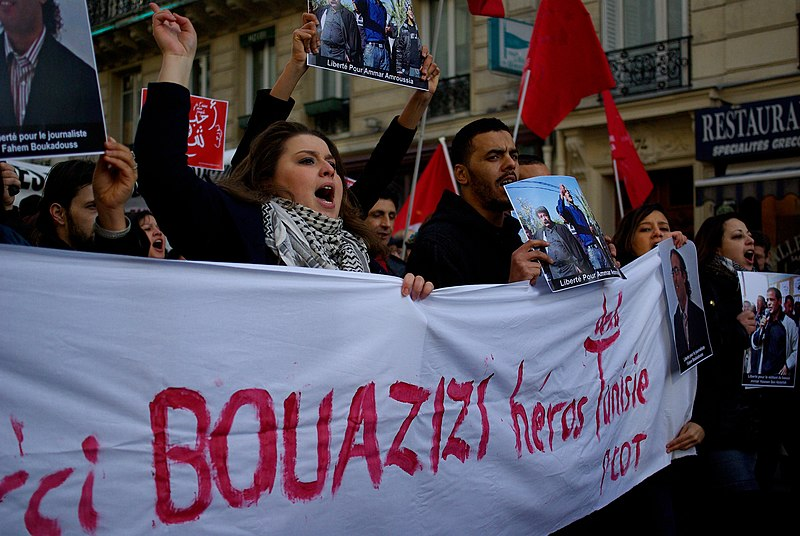 French support Bouazizi