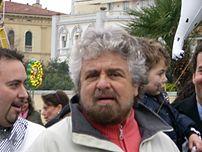 Beppe Grillo in Viareggio