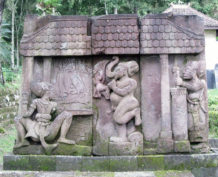 http://commons.wikimedia.org/wiki/File%3AKeris_Relief_at_Sukuh_Temple.jpg