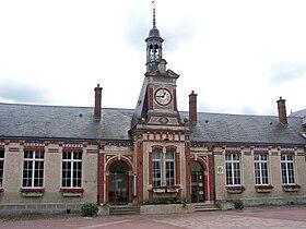 Mairie du Perray départ rigoles royales Vaux de Cernay