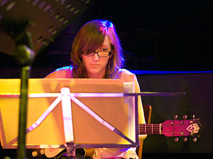 English: Mary Halvorson, Jazz guitarist; Pictu...