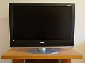 English: An LCD display from Mirai Svenska: En...