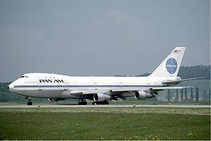 A Boeing 747 of Pan Am at Zurich Airport regulation Kane Minks