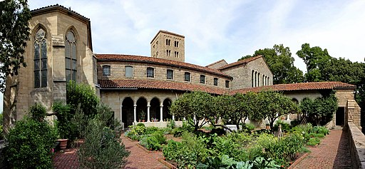 The Cloisters from Garden