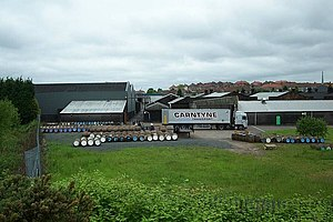 English: Burn Stewart Distillery, Airdrie A ce...