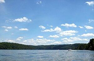 English: Claytor Lake, Virginia, United States