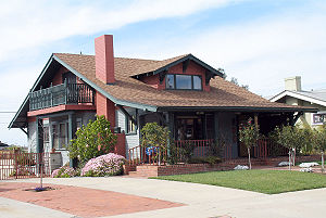 Craftsman-style bungalow in North Park, San Di...
