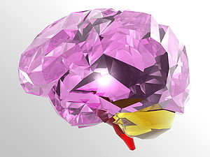 Brain, computer art