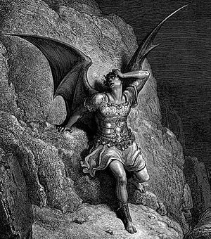 Satan, from Gustave Doré's illustrations for P...