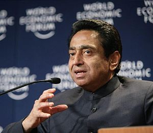 DAVOS/SWITZERLAND, 27JAN07 -Kamal Nath, Minist...