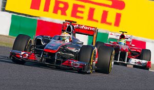 Formula One 2011 Rd.15 Japanese GP: Lewis Hami...