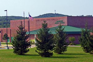 Monhagen Middle School in Middletown, NY, USA
