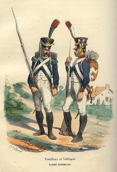File:Napoleon Guard Tirailleur and Voltigeur by Bellange.jpg