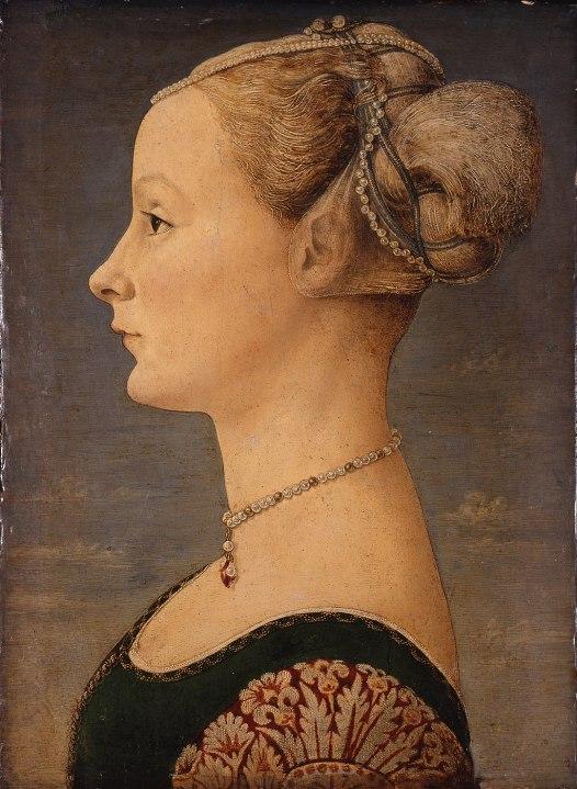 Piero del Pollaiolo - Portrait of a Woman