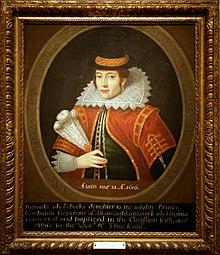 Portrait de Pocahontas, peint de son vivant