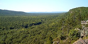 The Porcupine Mountains within the Upper Penin...