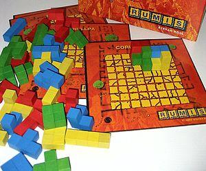 Boardgame Rumis, Murmel, Autor: Stefan Koegl