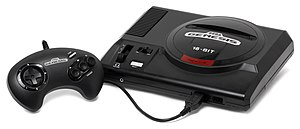 A Sega Genesis, this is a model 1 version with...